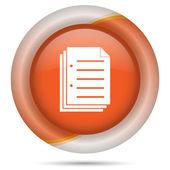 Document icon — Stock Photo