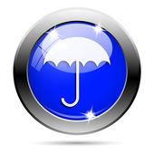 Paraplu pictogram — Stockfoto