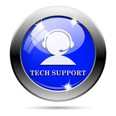 Tech ondersteuning pictogram — Stockfoto