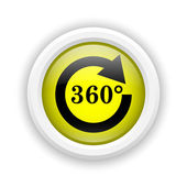 Reload 360 icon — Stock fotografie