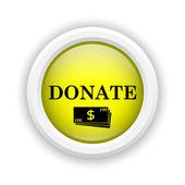 Spenden-symbol — Stockfoto