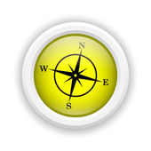 Compass icon — Stock Photo