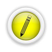 Pen icon — Stock Photo