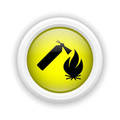 Fire icon — Stock Photo
