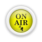 On air icon — Stock Photo