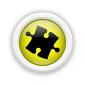 Icône de pièce de puzzle — Photo