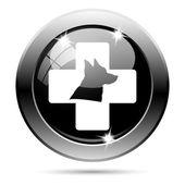 ícone de veterinária — Foto Stock