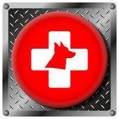 Veterinär-symbol — Stockfoto