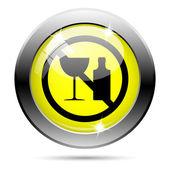 Aucune icône d'alcool — Photo