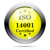 Icono de iso14001 — Foto de Stock