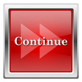 Continue icon — Stock Photo