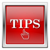 Tips icon — 图库照片
