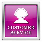 ícone de serviço de cliente — Foto Stock