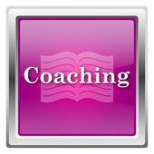 Coaching icon — Stock Photo