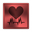 Stock Photo: Heart icon