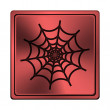 Stock Photo: Spider web icon