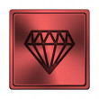 Stock Photo: Diamond icon