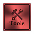 Stock Photo: Tools icon