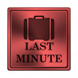 Stock Photo: Last minute icon