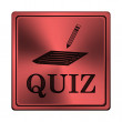 Stock Photo: Quiz icon