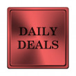 Stock Photo: Daily deals icon