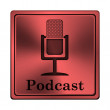 Stock Photo: Podcast icon