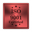 Stock Photo: ISO9001 icon
