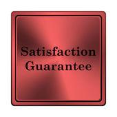 Satisfaction guarantee icon — Stock Photo