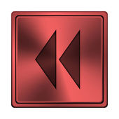 Terugspoelen pictogram — Stockfoto