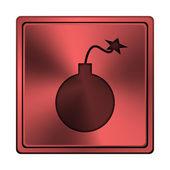 Icona di bomba — Foto Stock