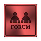 Forum icon — Stockfoto