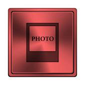 Photo icon — Stock Photo