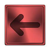 Left arrow icon — Stockfoto