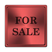 For sale icon — Stock Photo