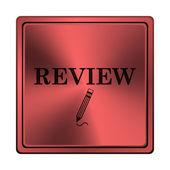 ícone de revisão — Foto Stock