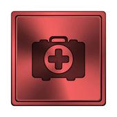 медицинский мешок значок — Стоковое фото