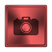Photo camera icon — Stockfoto