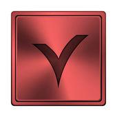 V geprüft-symbol — Stockfoto