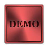 Icona demo — Foto Stock