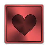Hart pictogram — Stockfoto