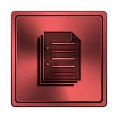 Icon document — Stockfoto