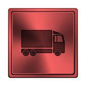 Vrachtwagen pictogram — Stockfoto