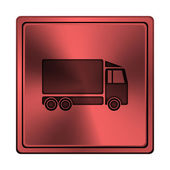 Lastbil-ikonen — Stockfoto