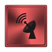 Ikonen för trådlös antenn — Stockfoto