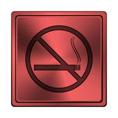 Ikona není kouření — Stock fotografie