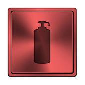 Mýdlo ikona — Stock fotografie