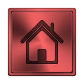 Sull'icona home page — Foto Stock
