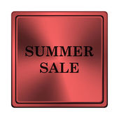 Summer sale icon — Stock Photo