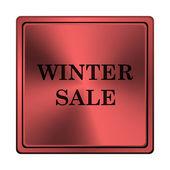Winter sale icon — Stock Photo