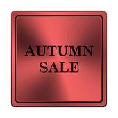 Icona di vendita d'autunno — Foto Stock